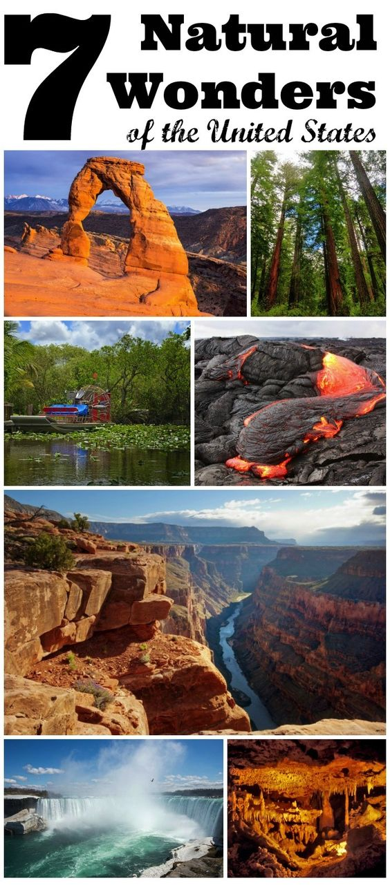 7 Natural Wonders of the United States