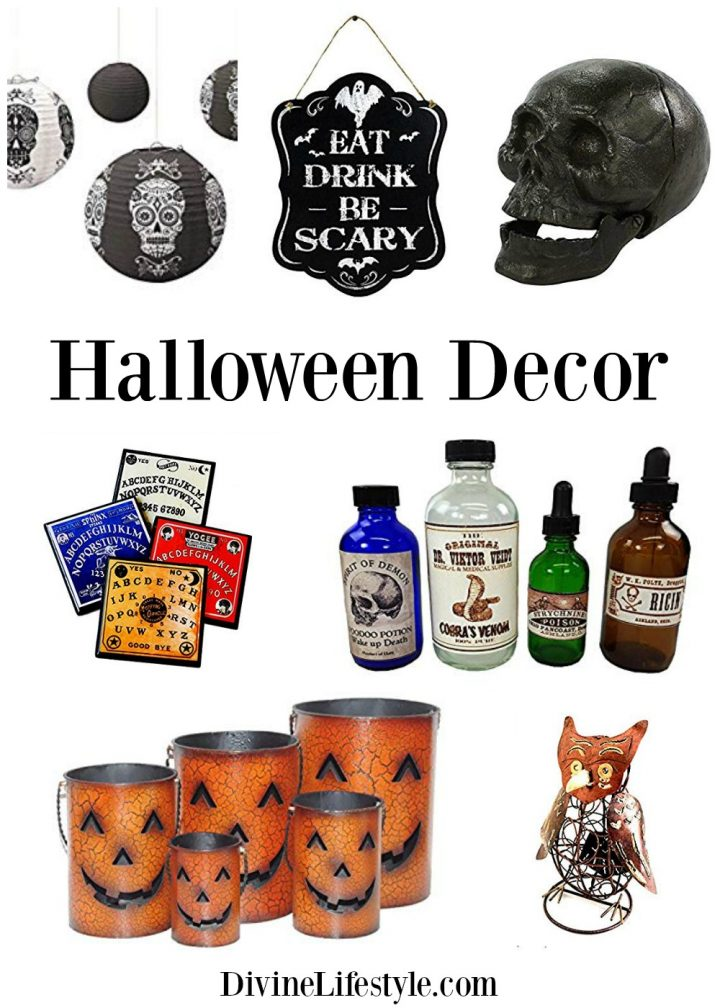 Enchanted Halloween Decor