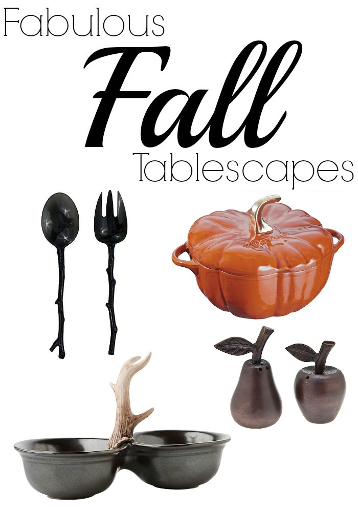 Fabulous Fall Tablescapes