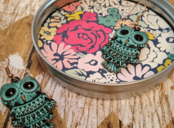 Mason Jar Lid Jewelry Dish Craft