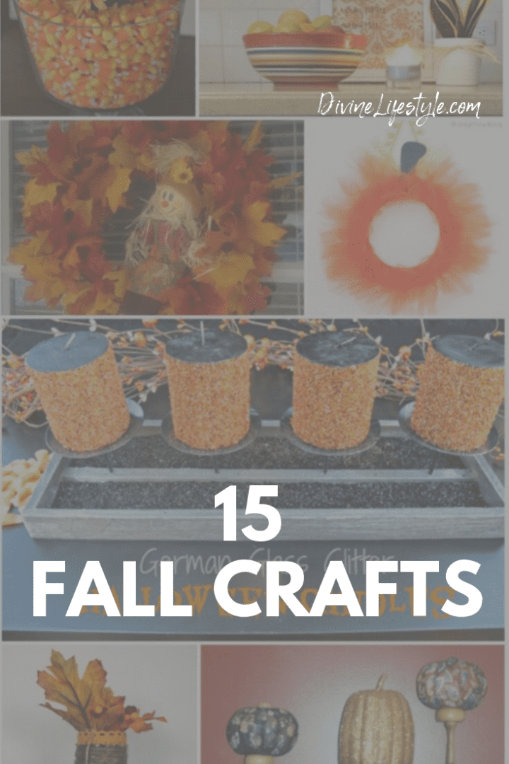 15 Fabulous Fall Crafts