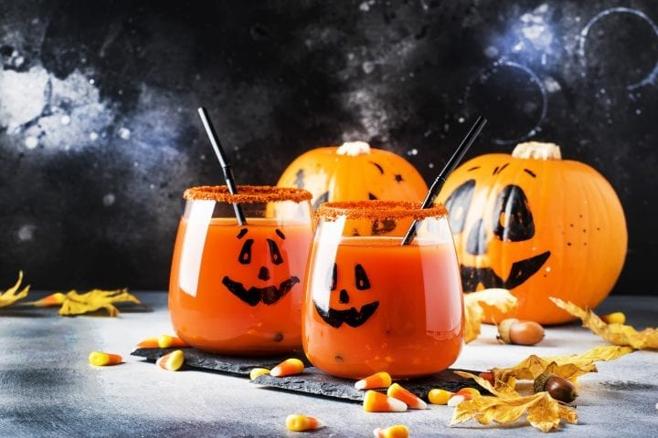 Alcohol Free Halloween Party Drinks