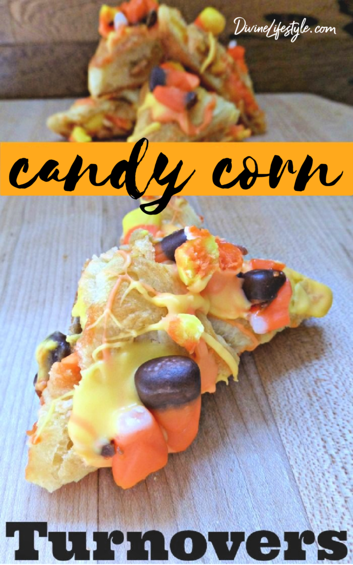 Candy Corn Turnovers