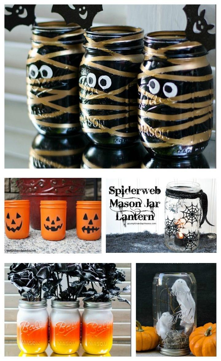 Halloween Mason Jar Crafts Diy Tutorial Divine Lifestyle