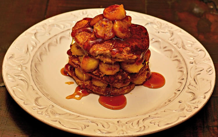 These banana Nutella pancakes are always a favorite.