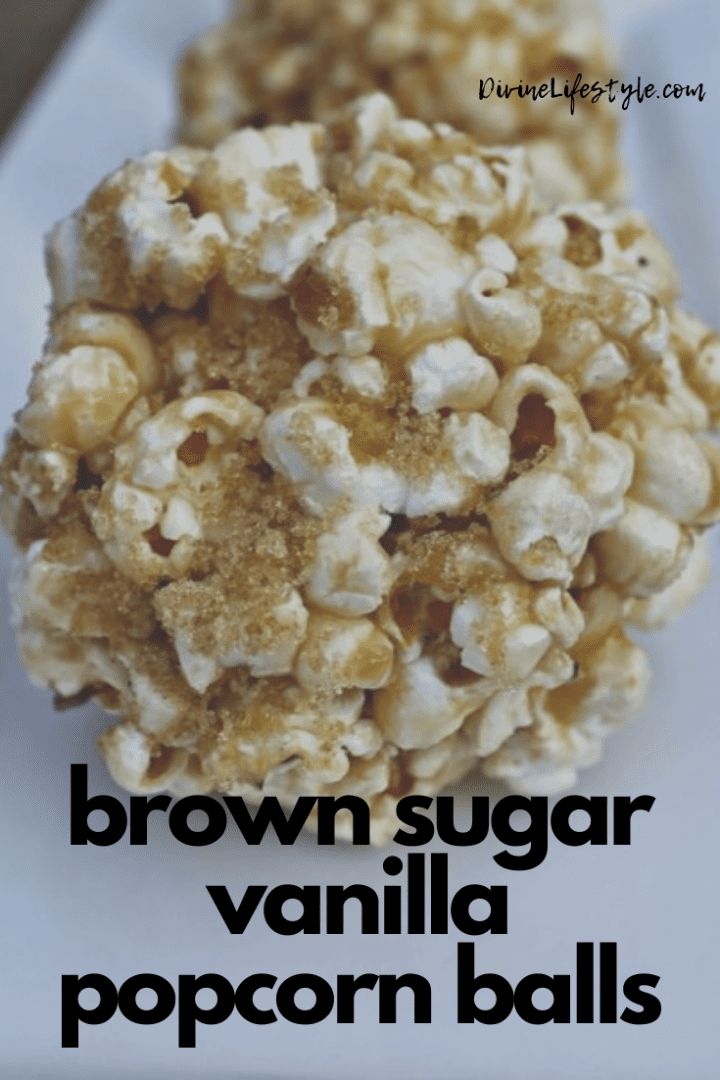 Brown Sugar Vanilla Popcorn Balls