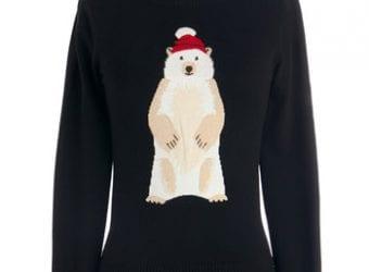 ModCloth Polar Bear Flair Sweater – $69.99