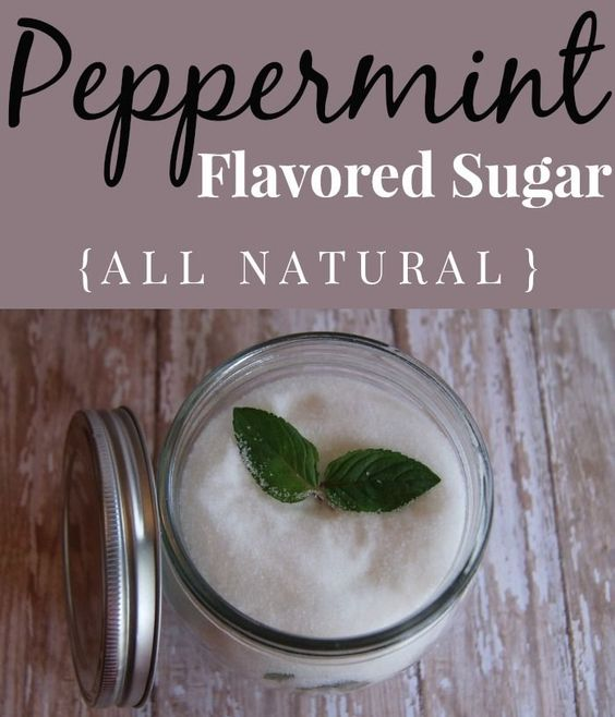 Peppermint Flavored Sugar Recipe
