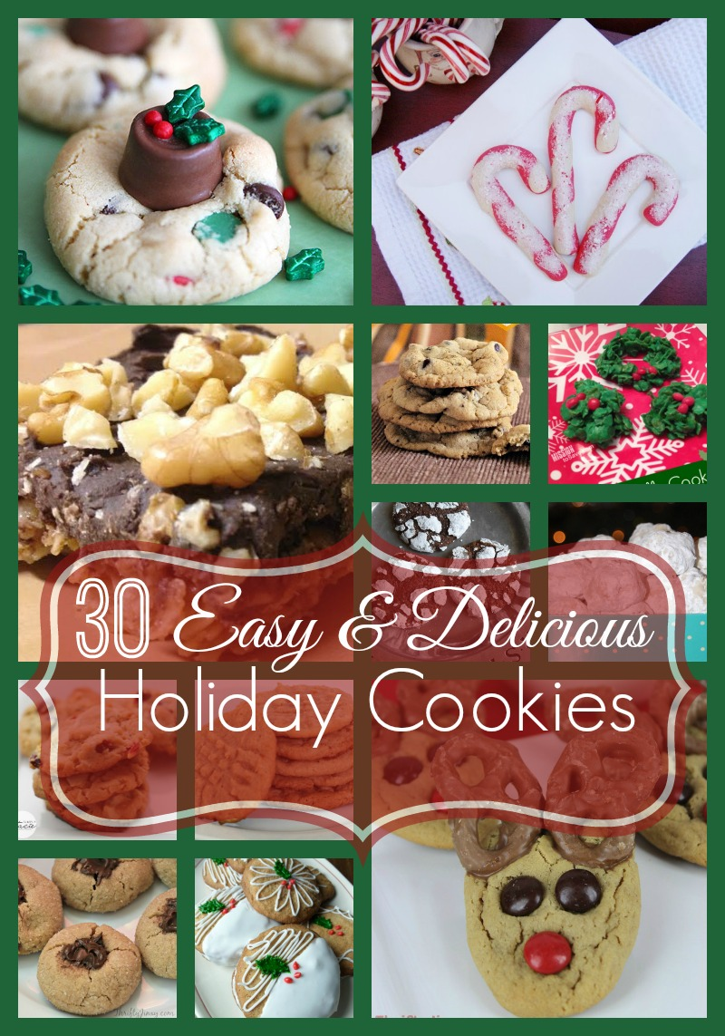 easy-delicious-holiday-cookies-words