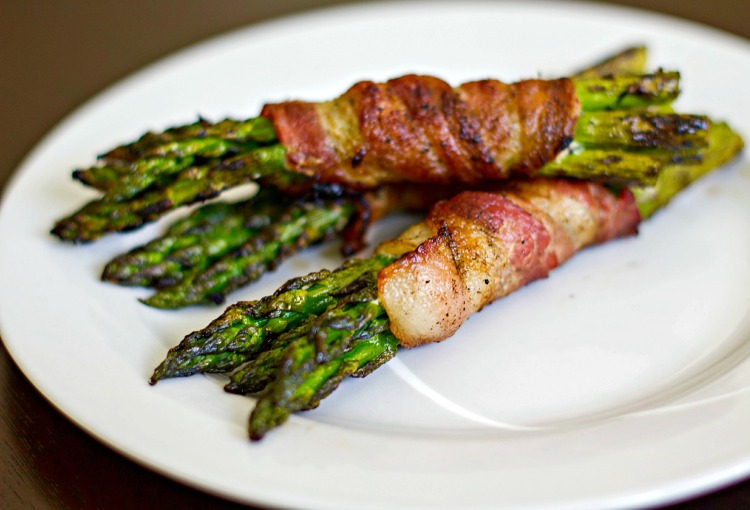 Bacon Asparagus Bunches-5