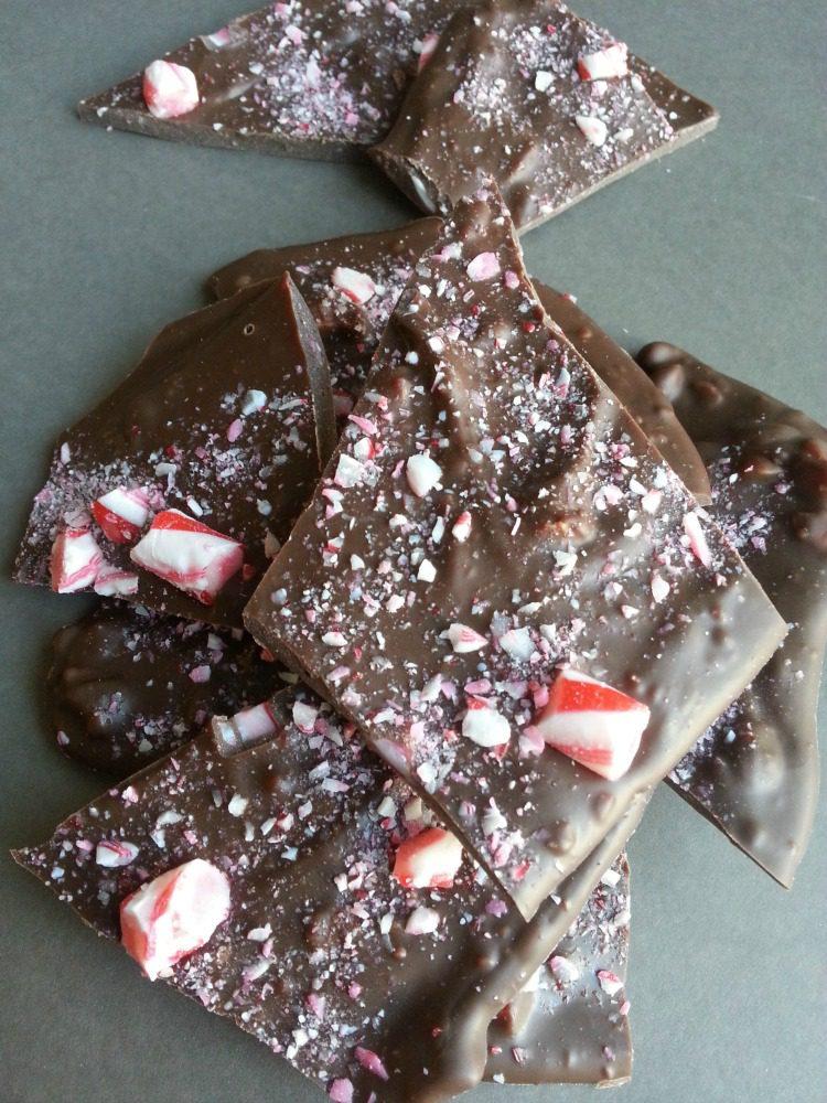 Chocolate Peppermint Bark 5