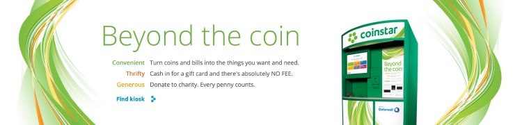 Coinstar Find a Kiosk Near You