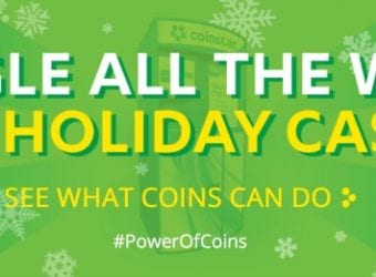 Coinstar #PowerofCoins Holiday Cash