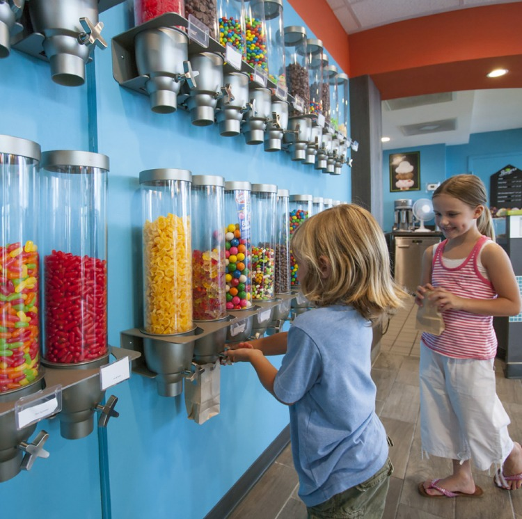 Crown Reef Resort in Myrtle Beach, South Carolina Candy