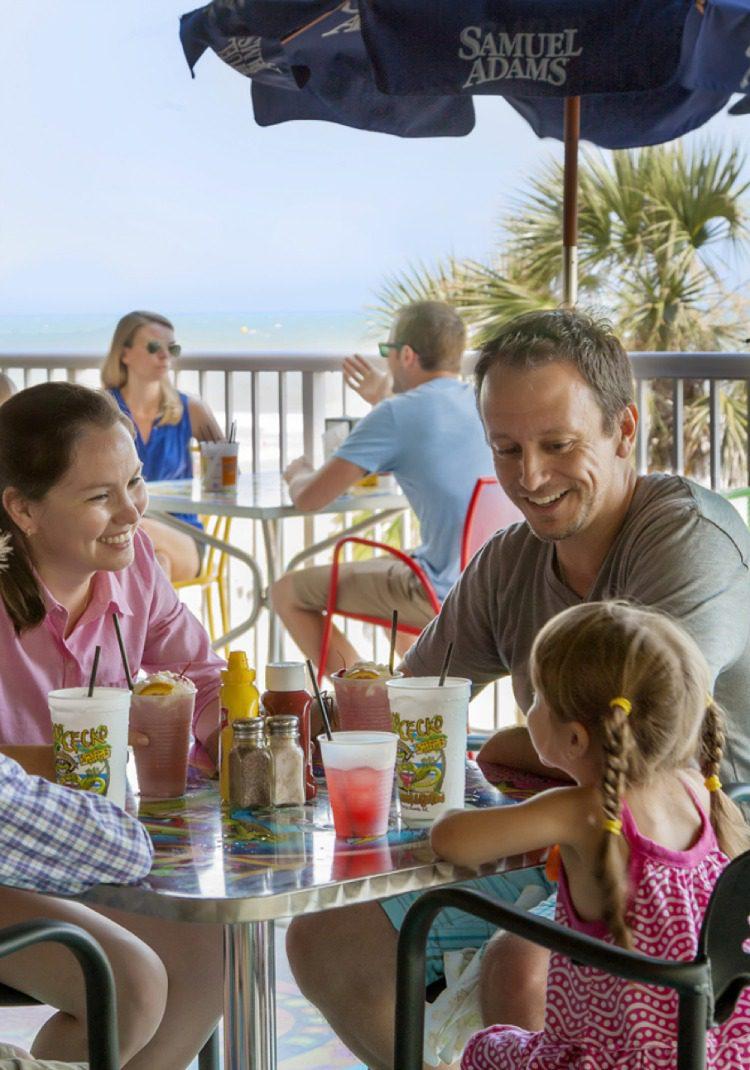 Crown Reef Resort in Myrtle Beach, South Carolina Food