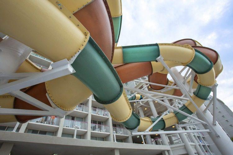 Crown Reef Resort in Myrtle Beach, South Carolina Slide