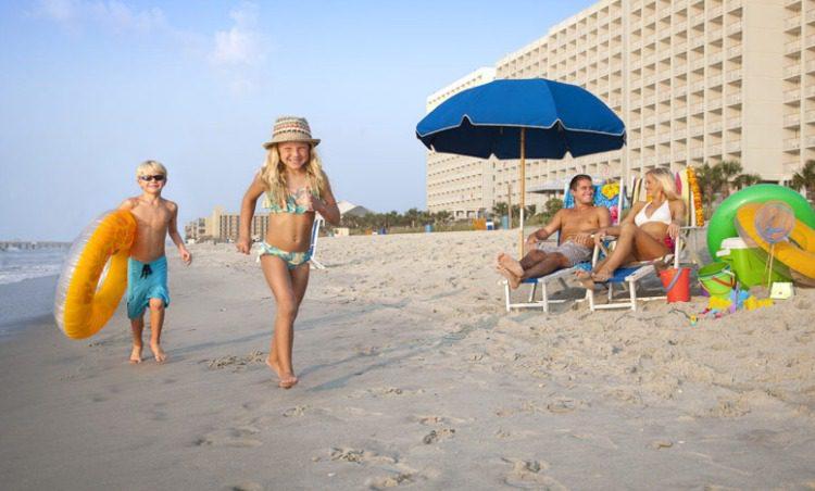 Crown Reef Resort in Myrtle Beach, South Carolina Beach