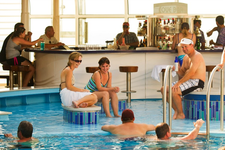 Disney Dream Cruise Ship for Adults Quiet Cove Pool