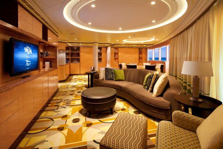 A Look Inside The Roy O Disney Royal Suite On Disney Dream
