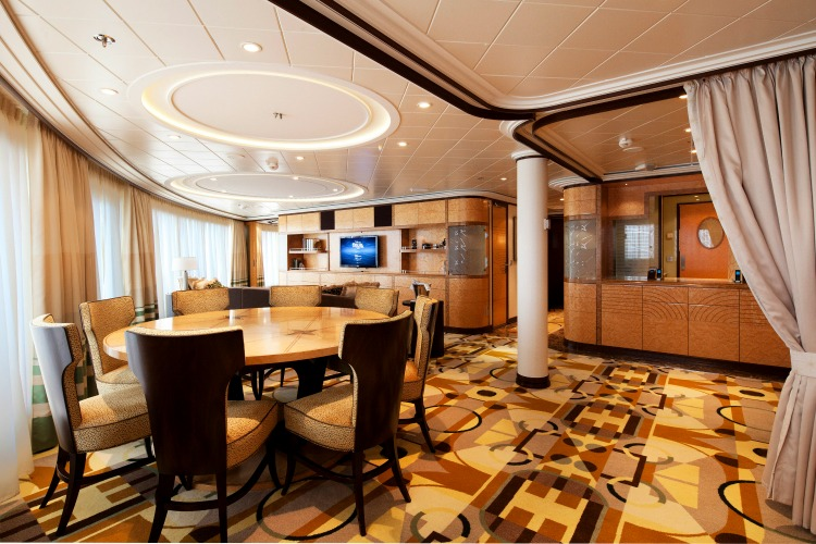 A Look Inside The Roy O Disney Royal Suite On Disney Dream