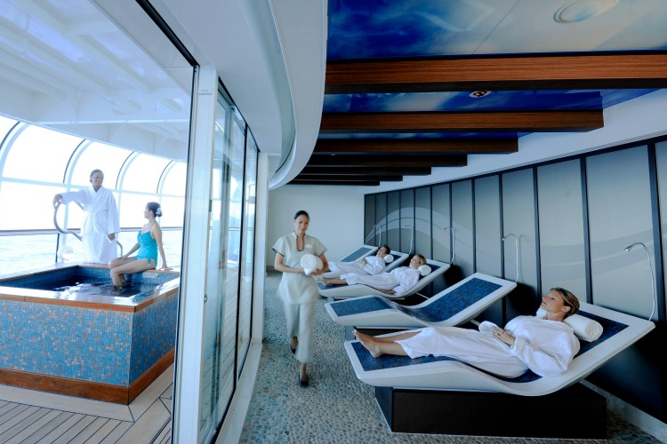 Disney Dream Cruise Ship for Adults Senses Spa & Salon – Rainforest Room