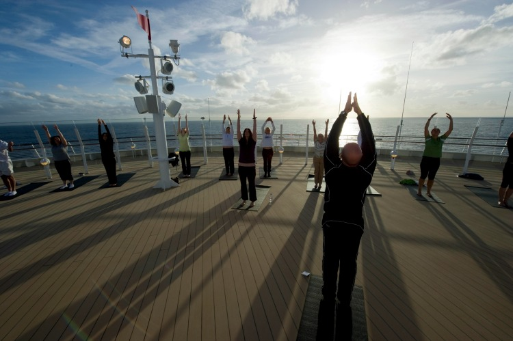 Disney Dream Cruise Ship for Adults Yoga on Deck