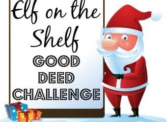 Elf on the Shelf Good Deed Challenge