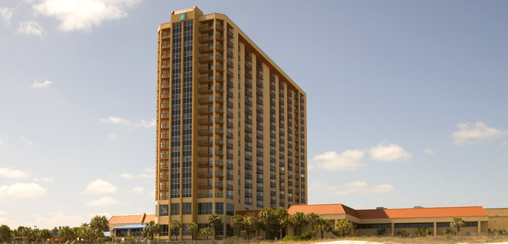 Embassy Suites Kingston Plantation in Myrtle Beach South Carolina 1