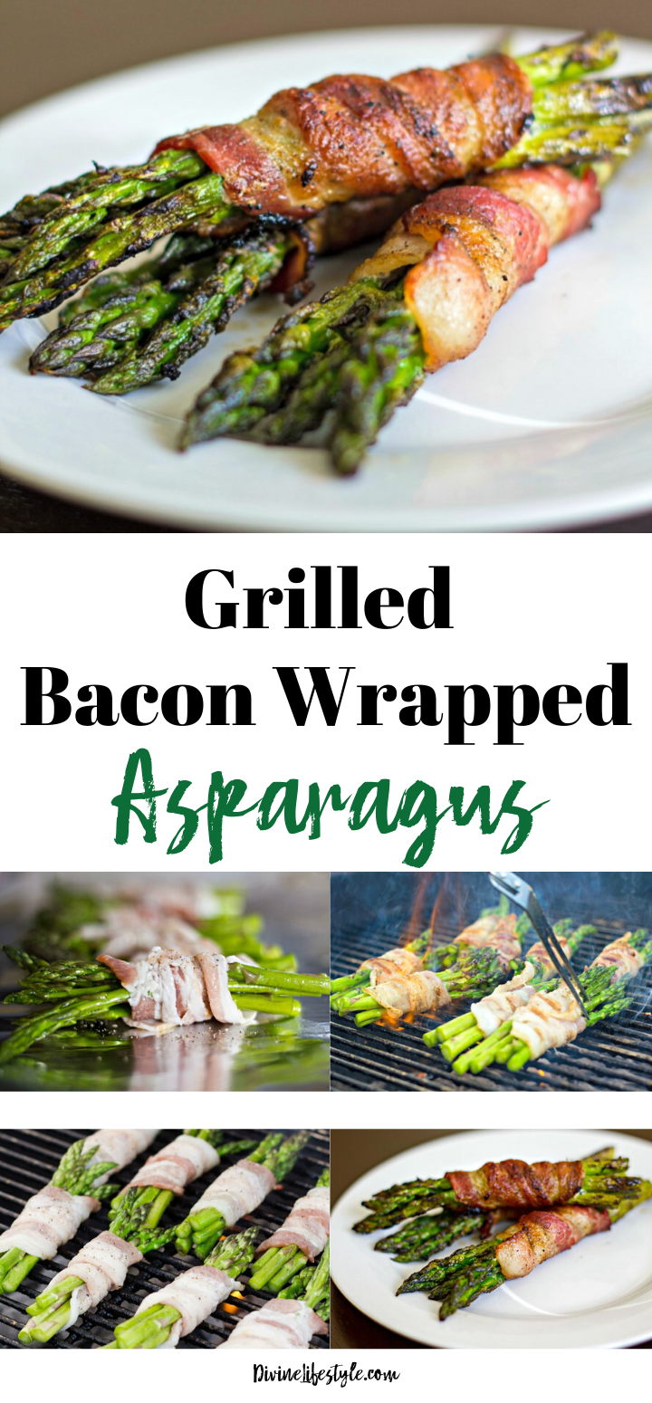 Grilled Bacon Wrapped Asparagus Recipe