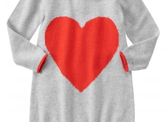 Gymboree Heart Sweater Dress – $36.95