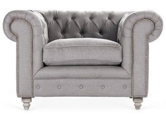 Hayes Chesterfield Chair – $1,799.00 One Kings Lane