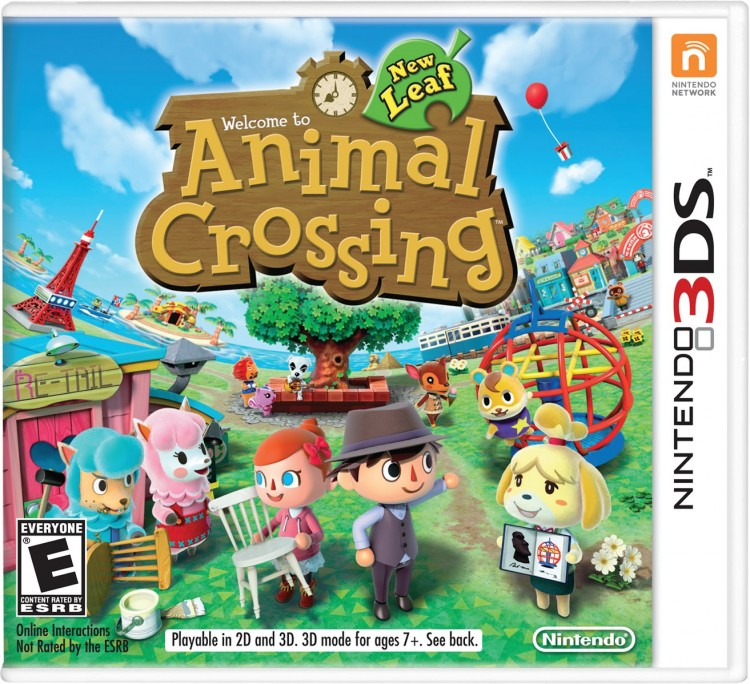 Nintendo Animal Crossing - New Leaf Game Cover