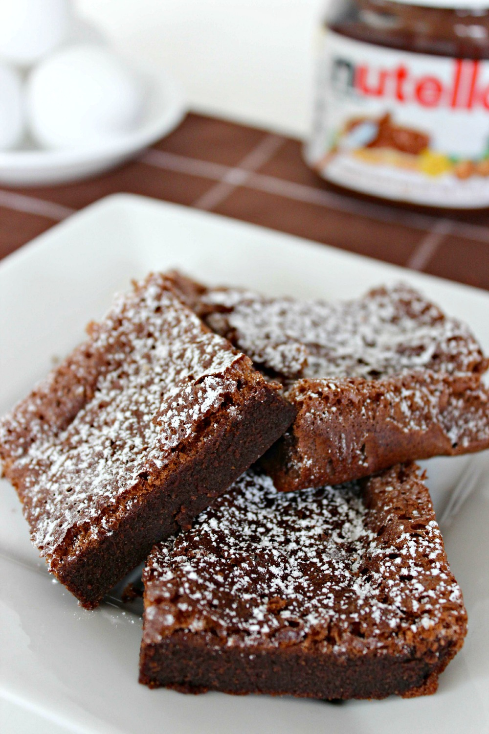 Nutella Brownies Recipe — Dishmaps
