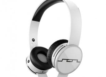 SOL REPUBLIC Tracks Air Wireless On-Ear Headphones with A2 Sound Engine, Ice White 1