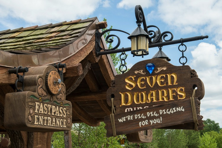 Seven Dwarfs Mine Train 12