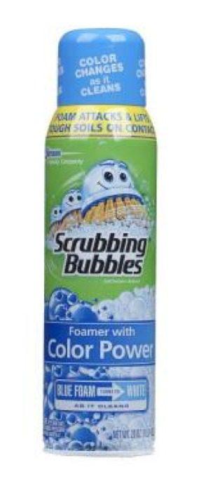 Squeaky Clean Scrubbing Bubbles