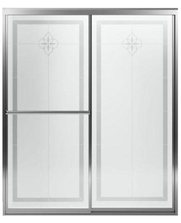 Squeaky Clean Sliding Shower Door