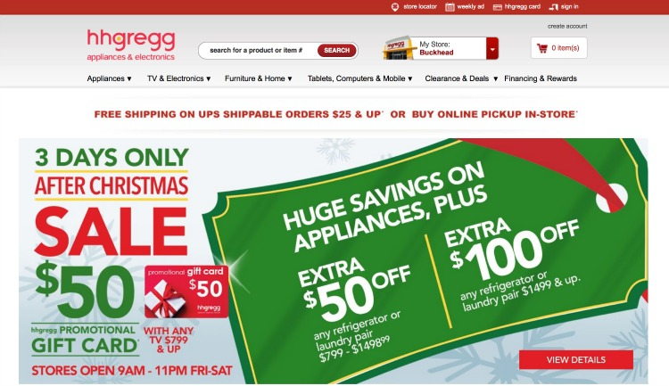 Win A 100 Gift Card From Hhgregg Giveaway Divine Lifestyle