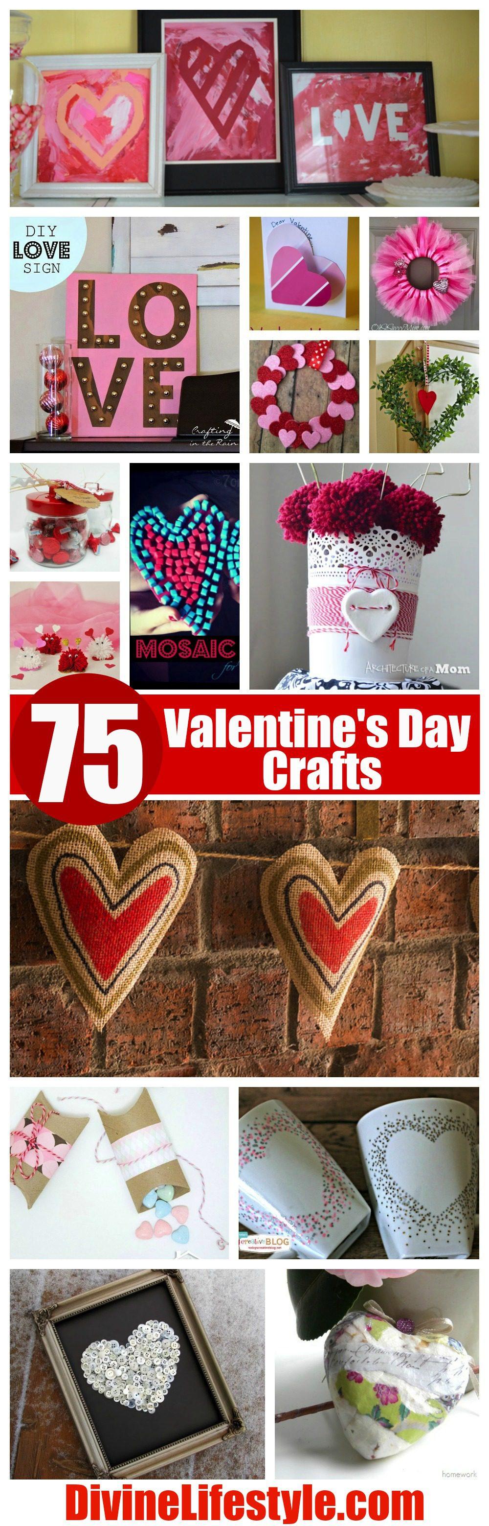 75 Valentine's Day Crafts