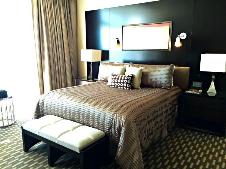 ARIA Hotel & Sky Suites in Las Vegas - ARIA Sky Suites Bedroom