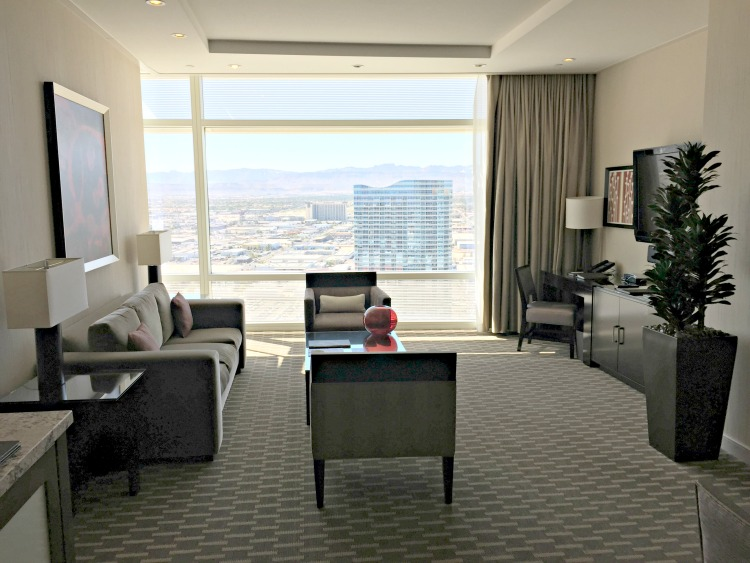 ARIA Hotel & Sky Suites in Las Vegas - ARIA Sky Suites Living Room