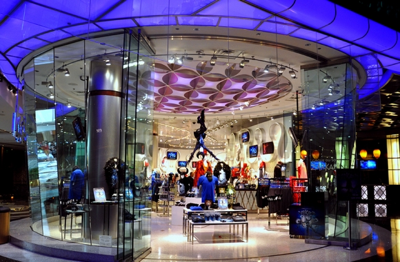 Shopping at the ARIA Hotel in Las Vegas - ARIA Zarkana Store