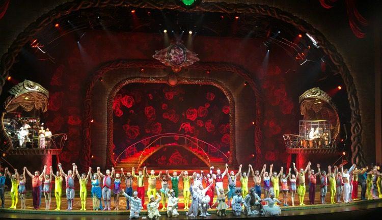 Visiting Las Vegas Cirque du Soleil Zarkana ARIA 4 #HowWeVegas