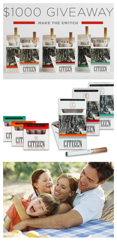 Citizen e-cig Giveaway