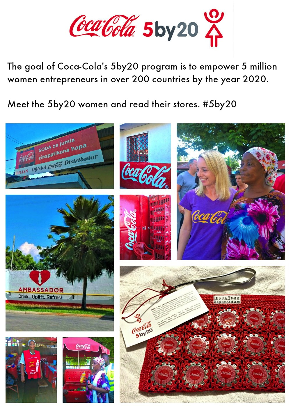 Coca-Cola 5 by 20 Initiative #5by20