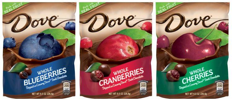 DOVE Dark Chocolate Dipped Fruit