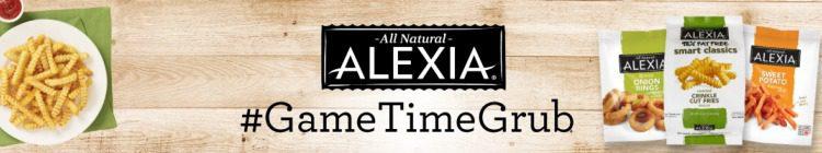 Alexia Game Day Grub website