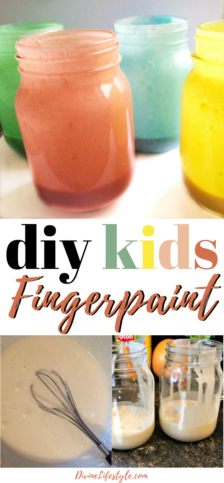 Crafts for Kids: Homemade Paint with Food Coloring {Non Toxic}
