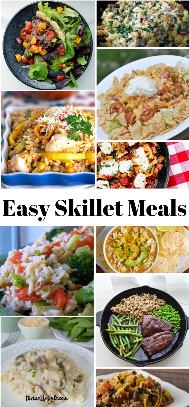 Easy Skillet Meals