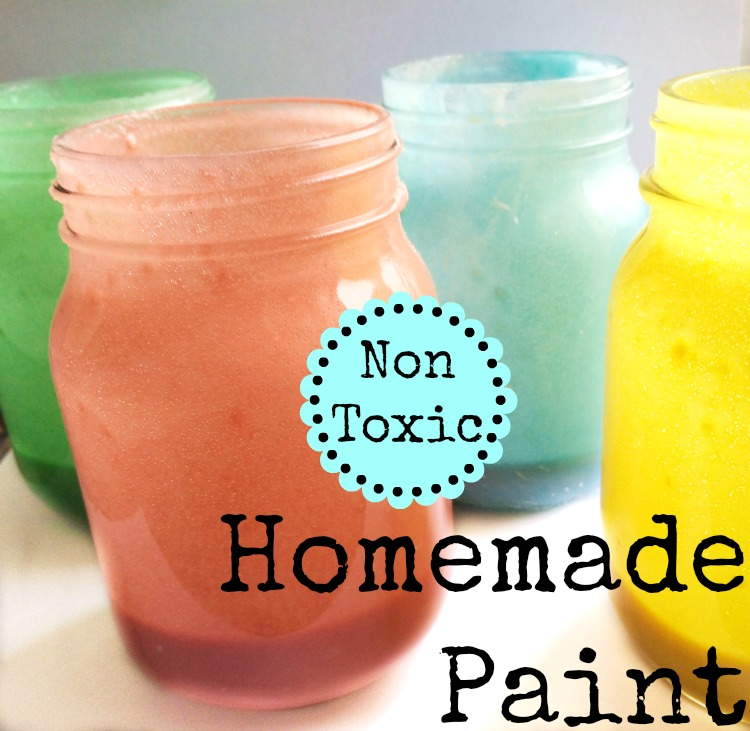 crafts for kids homemade paint recipe non toxic